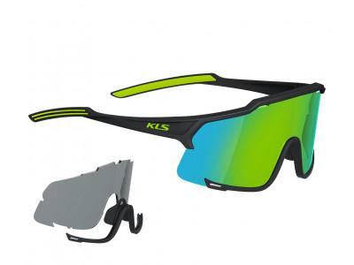 Kellys Slnečné okuliare DICE Shiny Black - Lime - zelené