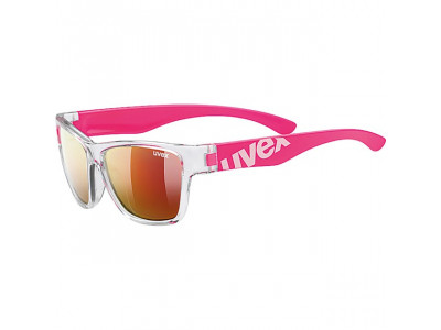 - Clear Pink/Mir. Red