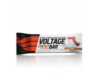 Nutrend tyčinka Voltage Energy Cake 65 g - káva s kofeínom