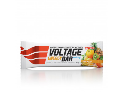 Nutrend tyčinka Voltage Energy Cake 65 g - exotic