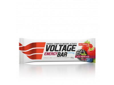 Nutrend tyčinka Voltage Energy Cake 65 g - lesné plody