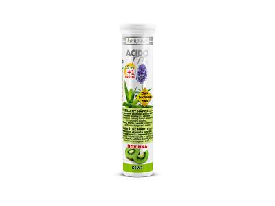 Kompava AcidoFit MD 15+1 tbl. - kiwi