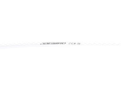 Jagwire brzdový bowden CGX SL - biely opletaný