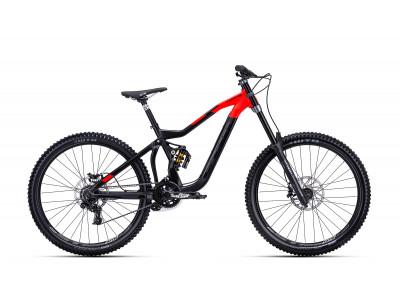 CTM MONS matná čierna / červená, model 2019