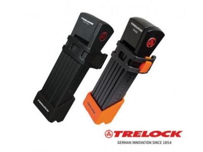 Trelock skladací zámok FS 200/75 TWO.GO™ - čierny držiak, 75 cm