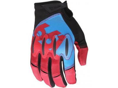 661 rukavice Evo II modro/červené, veľkosť L