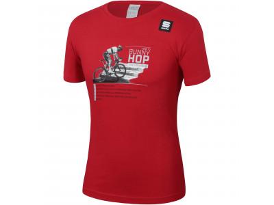 b61dc7496ab49 Sportful PETER SAGAN HOP tričko červené - MTBIKER Shop