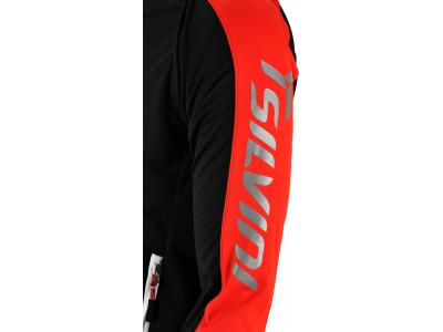 Silvini Mutta softshell bunda pánska čierna-červená