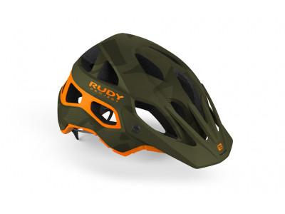 Rudy Project PROTERA prilba - S-M zelená-oranžová matná
