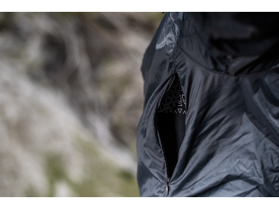 Bunda Silvini Gela MJ1607, pánska, šedo-čierna