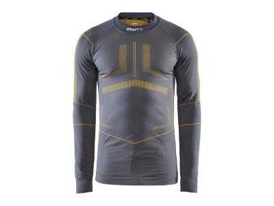 Craft pánske tričko Active Intensity - S, sivá so žltou