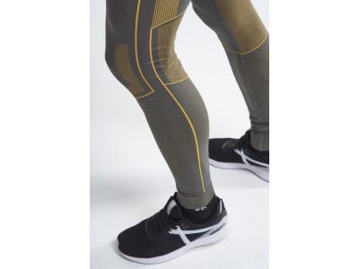 Craft pánske spodky Active Intensity - S, sivá so žltým