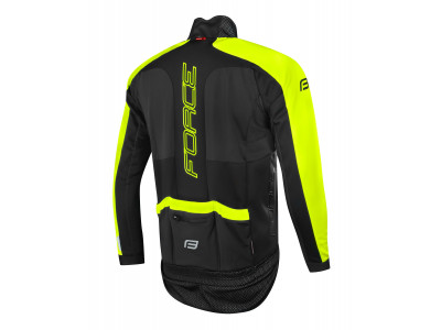 Force X100 zimná bunda čierna/fluo