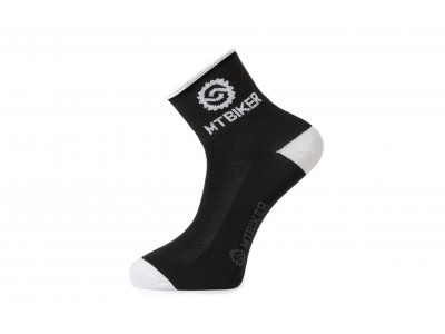 Ponožky MTBIKER - čierne S (36-38)