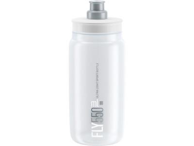 Elite fľaša FLY/kluby 550 ml - FLY MTB transparentná 550 ml