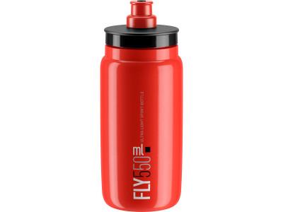 Elite fľaša FLY/kluby 550 ml - červená