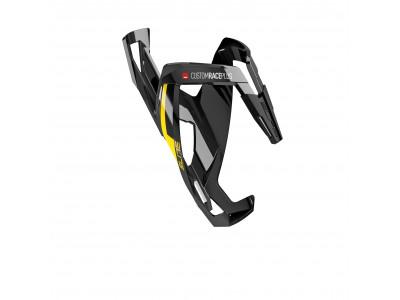 Elite košík CUSTOM RACE PLUS - čierno/žltý lesklý