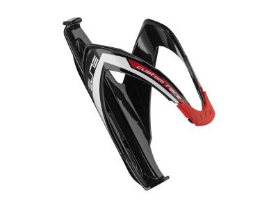 Elite Custom Race košík - čierna-biela-červená lesklá