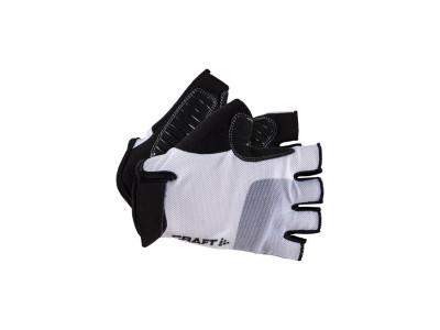 Craft Cyklorukavice Go - XXS, biela so sivou