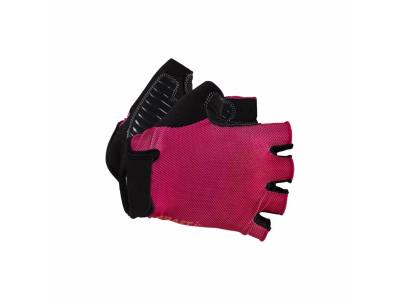 Craft Cyklorukavice Go - XXS, ružová