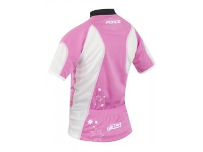 Force Star detský dres kr. rukáv ružový