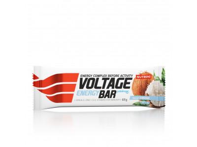 Nutrend tyčinka Voltage Energy Cake 65 g - kokos