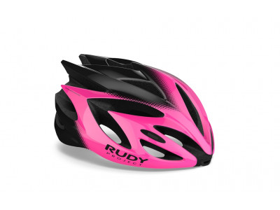 Rudy Project RUSH prilba - S ružová-fluo-čierna