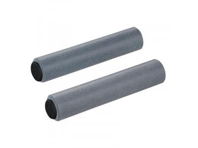 Supacaz Siliconez - silikónové gripy - GunMetal-šedá