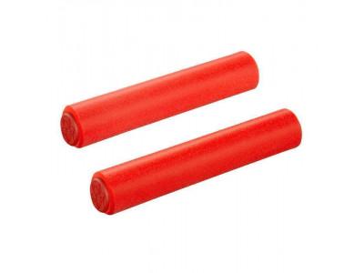 Supacaz Siliconez - silikónové gripy - červená