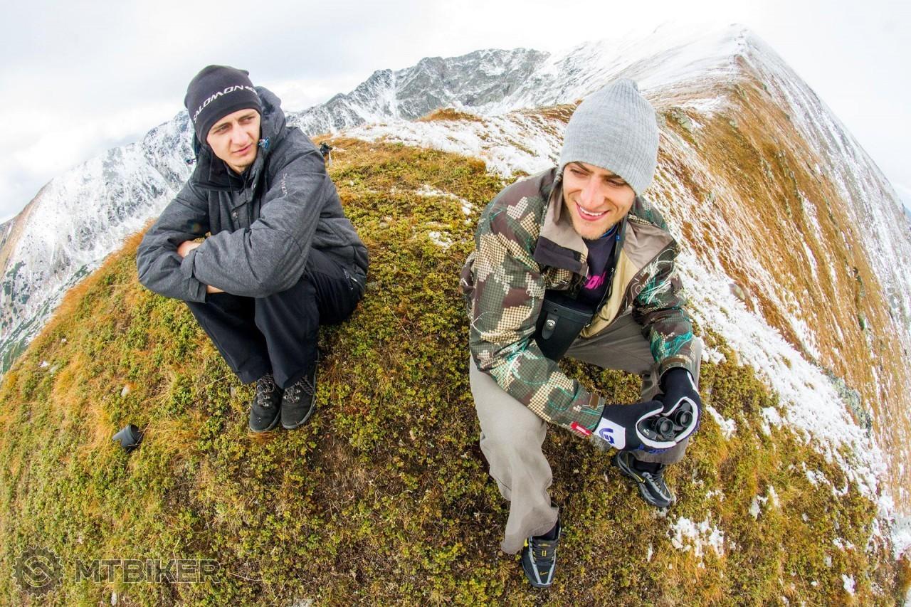 Johny Smitka a Peter Zelinka si užívajú horské prostredie