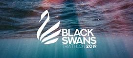 Logo: Black Swans Triathlon
