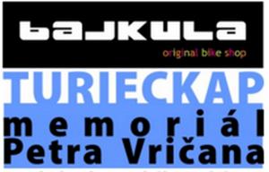 Logo: TURIECKAP - Memoriál Petra Vričana