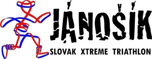 Logo: JÁNOŠÍK – Slovak Xtreme Triathlon