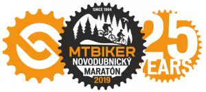 Logo: MTBIKER Novodubnický maratón 25.ročník