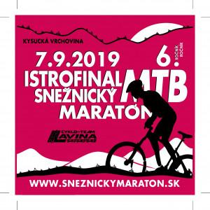 Logo: Istrofinal Snežnický MTB maratón