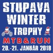 Logo: STUPAVA WINTER TROPHY MTB&RUN