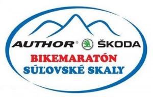 Logo: AUTHOR ŠKODA Bikemaratón Súľovské skaly - 3. kolo