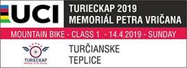 Logo: TURIECKAP - Memoriál Petra Vričana - UCI C1