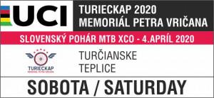 Logo: 1. kolo - Slovenský pohár XCO - TURIECKAP - Memoriál Petra Vričana