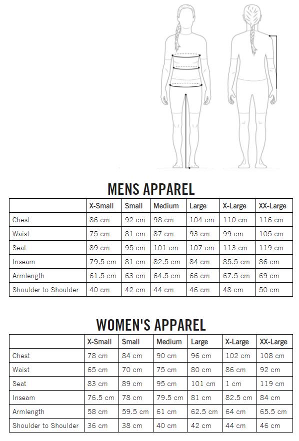 POC pánske/dámske oblečenie