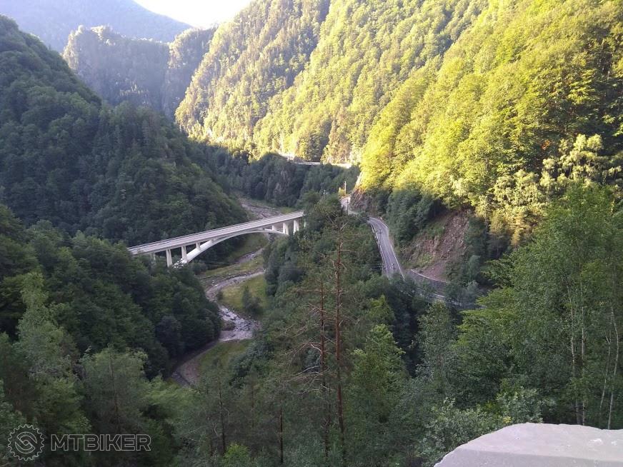 cykloturistika v juž. Karpatoch Rumunsku