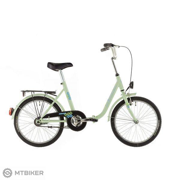 Skladací Bicykel Zn.kenzel Camping 20, Roč.2019