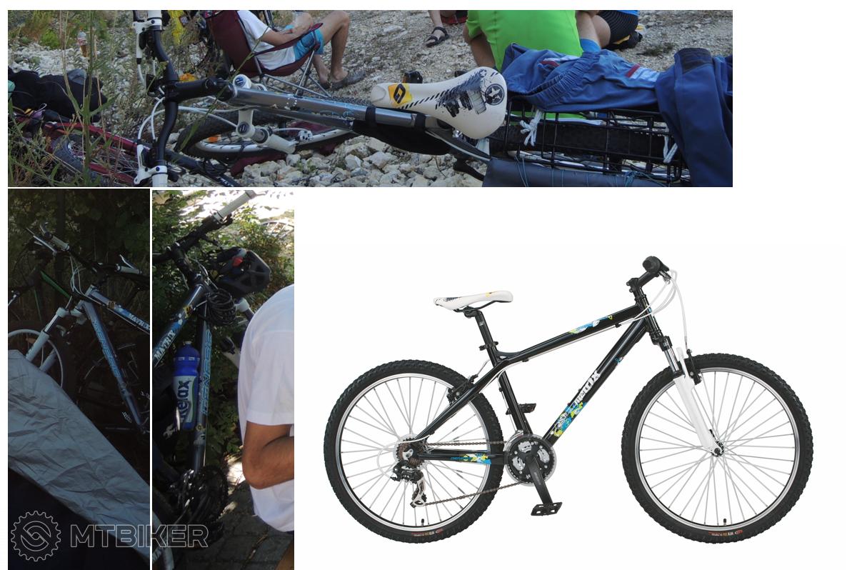 Horský Bicykel Genesis Matrix