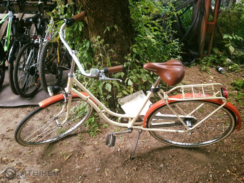 Retro - Repasovaný Holandský Bicykel