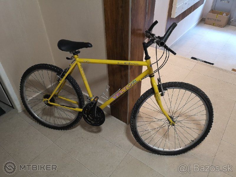 Horský Pánsky Bicykel Značky Vector