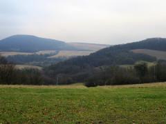 Výhľad z Obišovského hradu